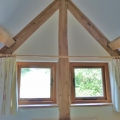 Original oak beams throughout