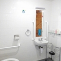 Bouldon Twin Ground Floor en suite Wet Room